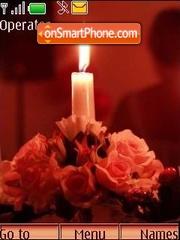 Evening, candles... es el tema de pantalla
