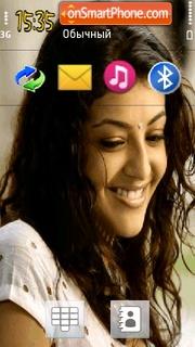 Kajal theme screenshot