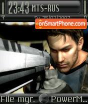 Resident Evil 5 es el tema de pantalla