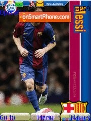 Lionel messi tema screenshot