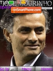 Jose mourinho theme screenshot