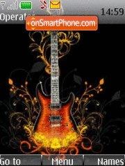 Guitar 11 theme screenshot