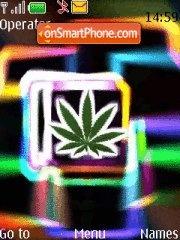 Neon Weed 01 es el tema de pantalla