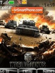 World of Tanks tema screenshot