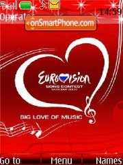 Eurovision Song Contest theme screenshot