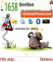 Nicobou Ram Default theme screenshot