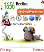 Скриншот темы Nicobou Ram