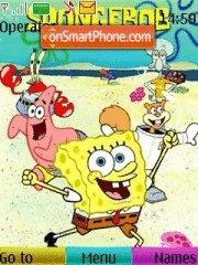 Скриншот темы Sponge Bob 05