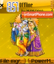 Radhekrishna theme screenshot