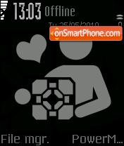 Love Present theme screenshot