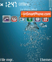 Water 10 theme screenshot