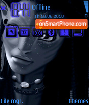 Avatar 2011 theme screenshot