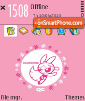 Huahua theme screenshot