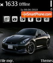 Nissan gtr 11 theme screenshot