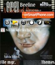 Скриншот темы Clockwork Orange