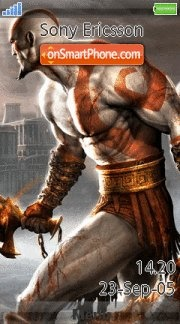 God Of War 05 es el tema de pantalla