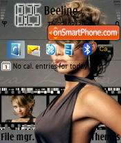 Jessica Alba 01 theme screenshot