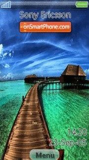 Beach Resort es el tema de pantalla