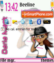 Darla Mack Default theme screenshot