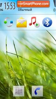 Nokia Grass es el tema de pantalla