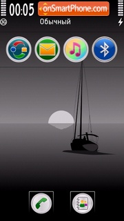 Sailing 02 tema screenshot