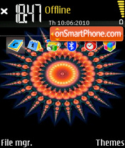 Aztec Sun theme screenshot