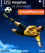 Footballer theme screenshot