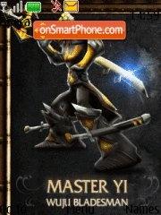 League of Legends theme screenshot