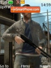 GTA 4-Niko Bellic theme screenshot