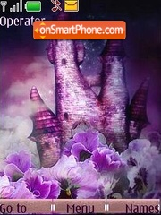 Violet tema screenshot
