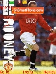 Wayne Rooney theme screenshot