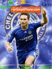 Frank Lampard theme screenshot