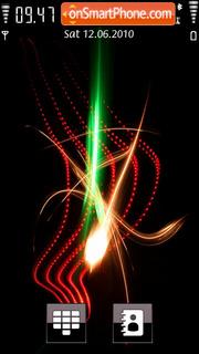 Sparkle Flame theme screenshot