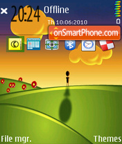 Sunset 09 Theme-Screenshot