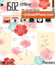 Check flower fp1 es el tema de pantalla