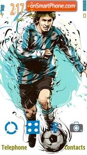 Скриншот темы Messi by Shawan