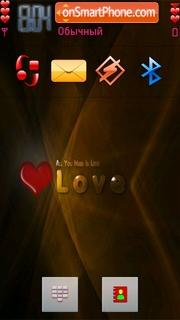Love 01 es el tema de pantalla