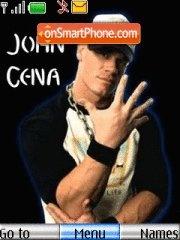 John Cena With Tone 01 theme screenshot
