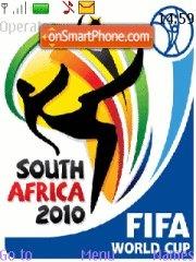 World Cup 2010 08 es el tema de pantalla
