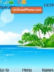 Island 11 theme screenshot