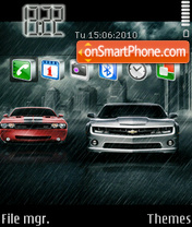 Night Drift es el tema de pantalla