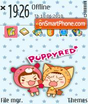 Puppy 05 es el tema de pantalla