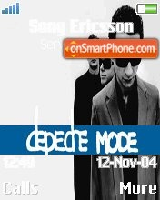 DepecheMode theme screenshot