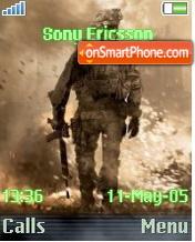 Call of Duty 4 Modern Warfare 2 es el tema de pantalla