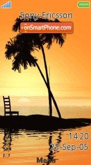 Sunset Beach 02 es el tema de pantalla