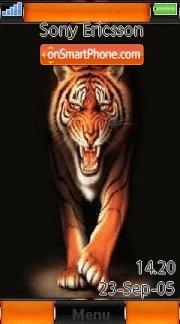 Tiger 27 es el tema de pantalla