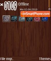 Kayu theme screenshot