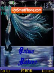 Anime nature theme screenshot