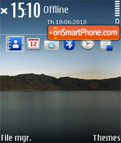 Скриншот темы Ipad inspired