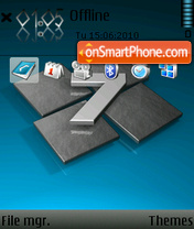 Windows 7 Blue 01 theme screenshot